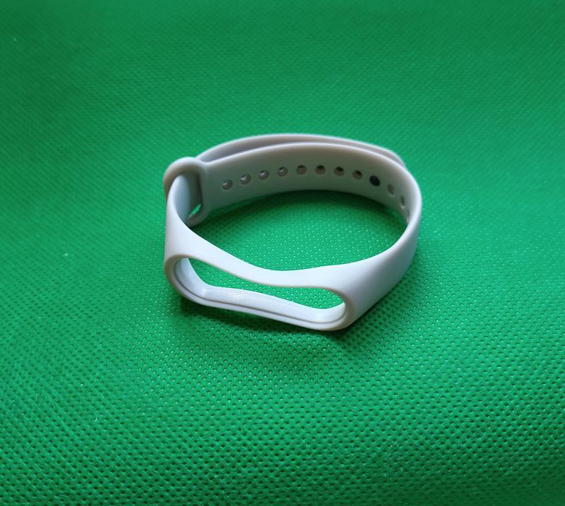 Сменный ремешок для mi band 3 / mi band 4 серый