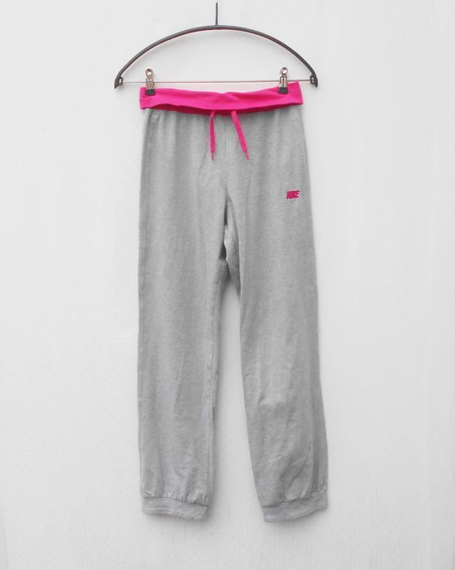 Трикотажные хлопковые спортивные штаны nike