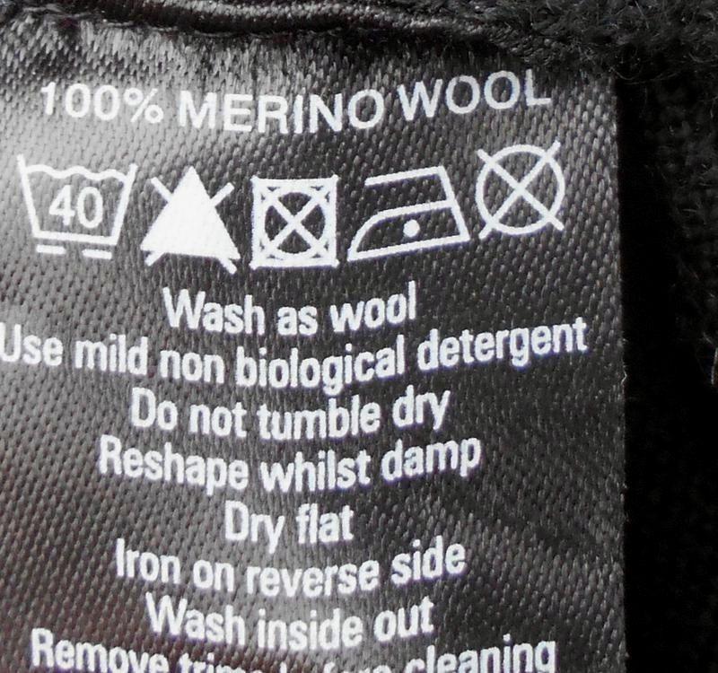 Черный осенний мягкий мерино  шерстяной свитер с запахом с рук... - Фото 5