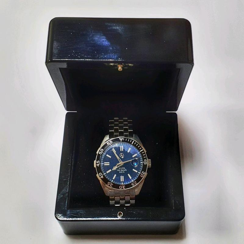 Новые оригинальные часы Mercedes-Benz со стальным браслетом - Фото 2