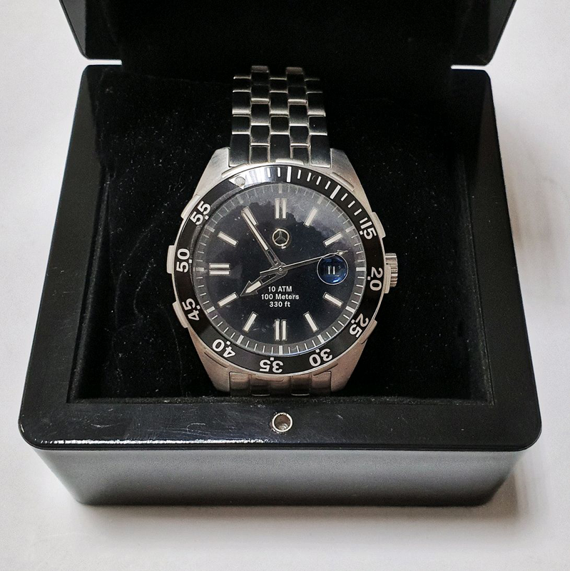 Новые оригинальные часы Mercedes-Benz со стальным браслетом - Фото 5