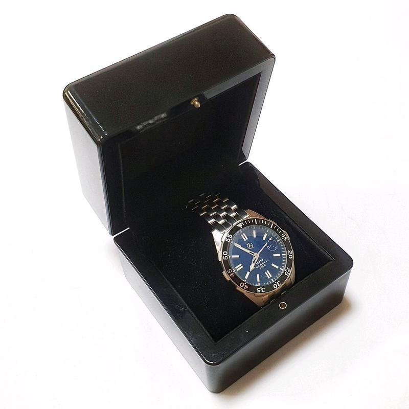 Новые оригинальные часы Mercedes-Benz со стальным браслетом - Фото 3
