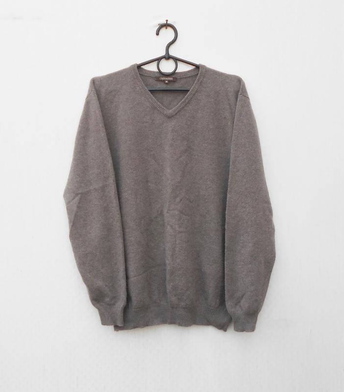Осенний зимний кашемировый свитер пуловер с длинным рукавом