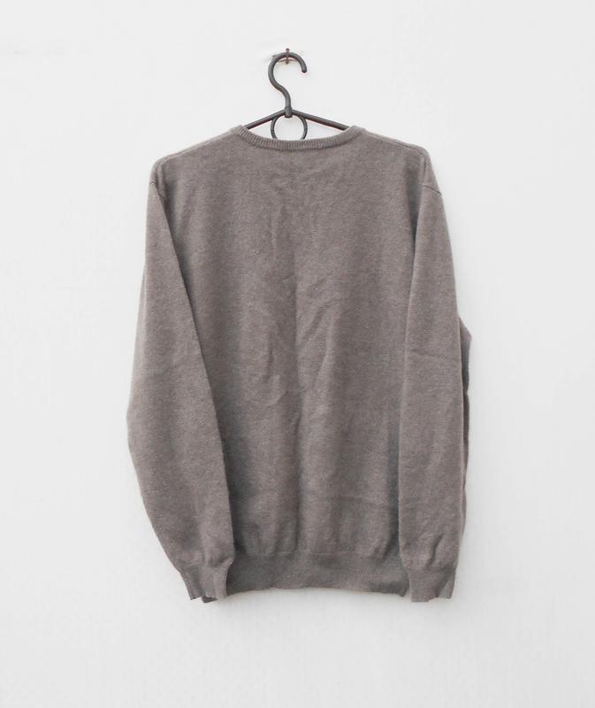 Осенний зимний кашемировый свитер пуловер с длинным рукавом - Фото 3