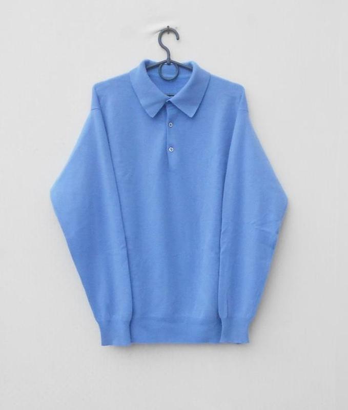 100% кашемировый осенний зимний свитер поло с длинным рукавом