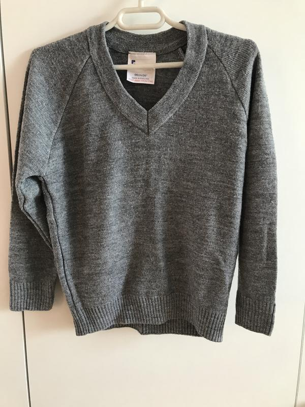 Детский реглан свитер