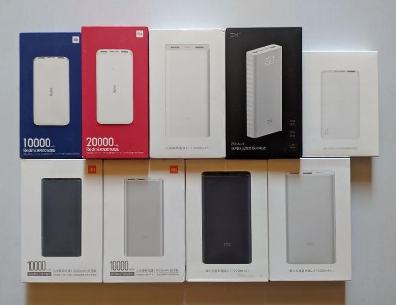 Xiaomi Redmi Power Bank 10000 20000 mAh, Xiaomi 2s 3 new, 2C 2...