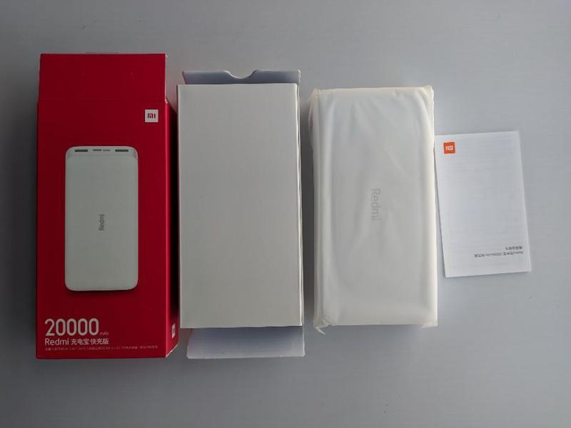 Xiaomi Redmi Power Bank 10000 20000 mAh, Xiaomi 2s 3 new, 2C 2... - Фото 3