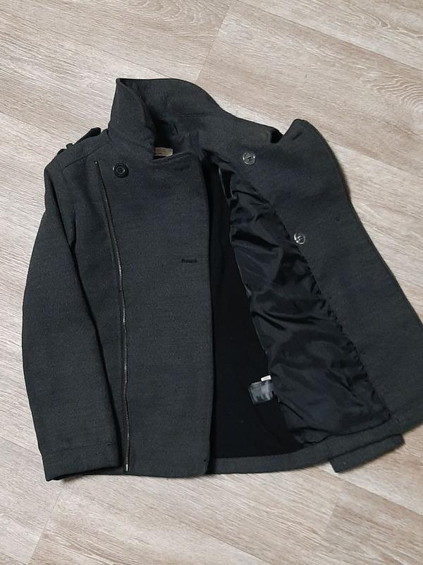 Стильное модное пальто h&m / бомбер / демисезонное пальто /бушлак - Фото 5