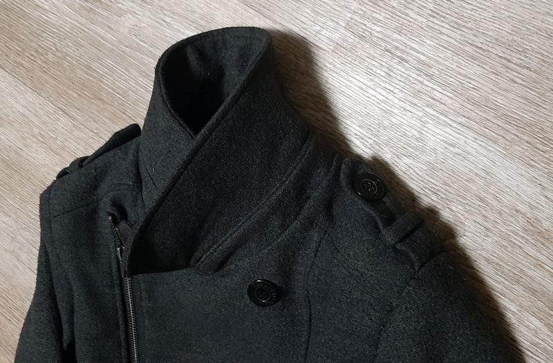 Стильное модное пальто h&m / бомбер / демисезонное пальто /бушлак - Фото 4