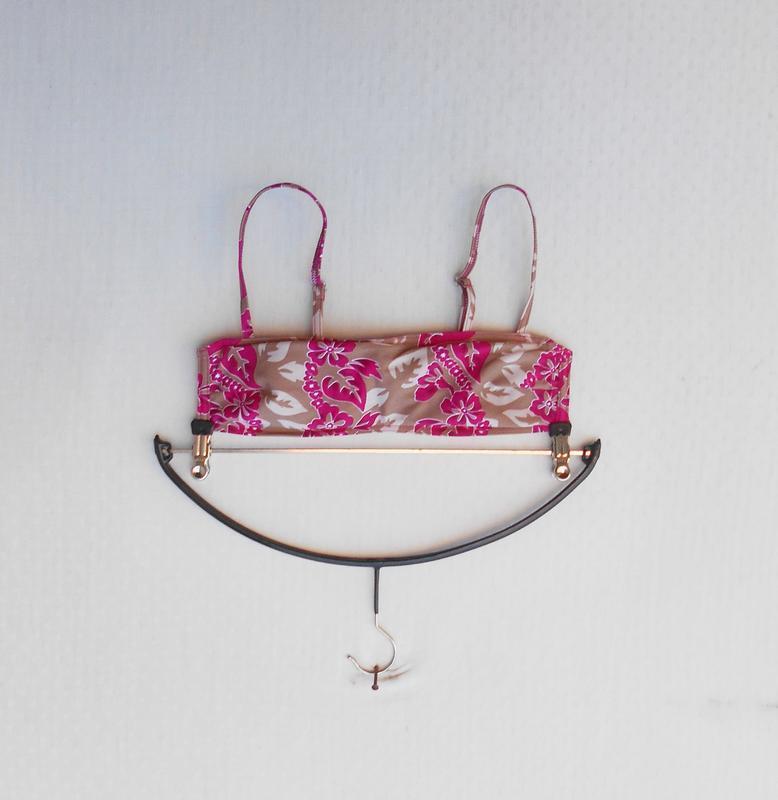Раздельный купальник бандо трусики с юбочкой 🌿 - Фото 2