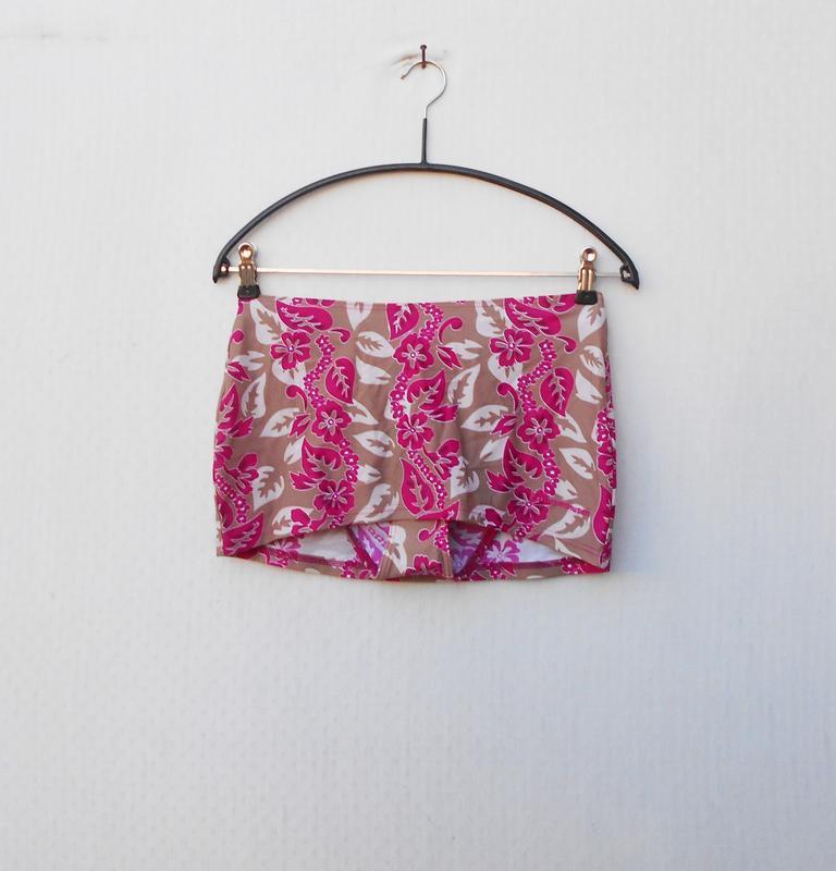 Раздельный купальник бандо трусики с юбочкой 🌿 - Фото 6