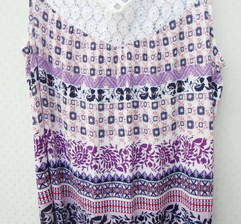 Летняя блузка с кружевом - Фото 2
