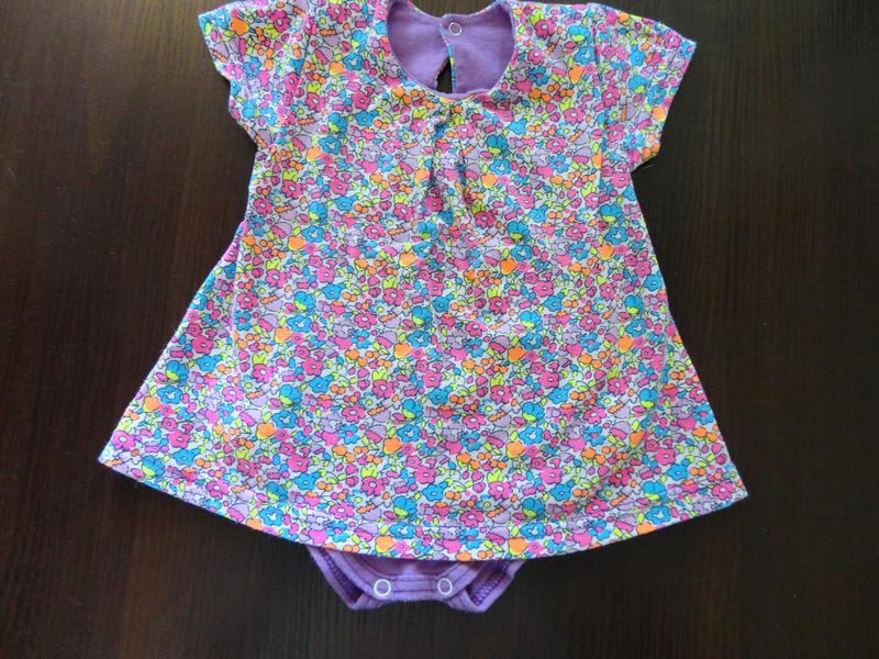 Боди-платье 68 размер
