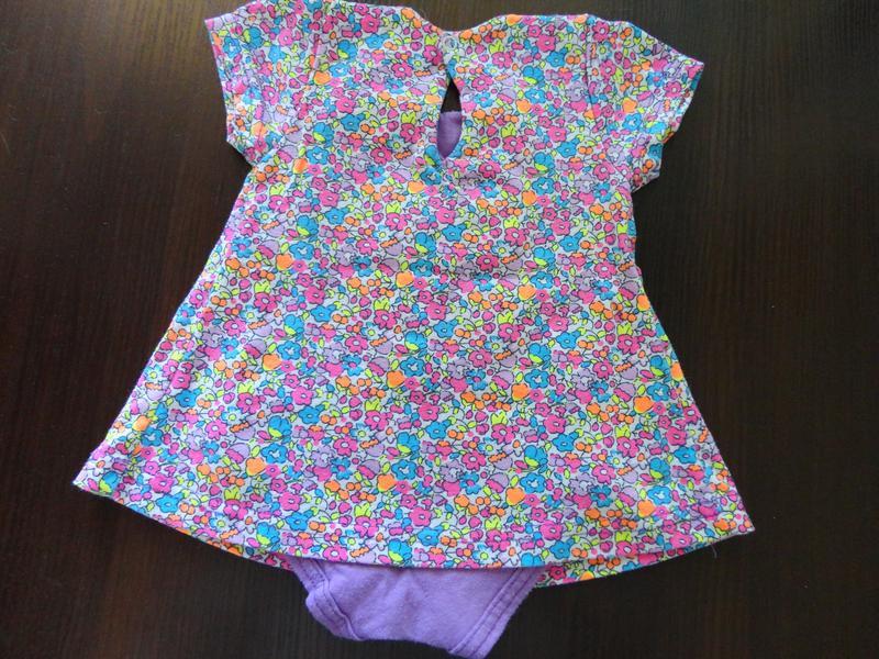Боди-платье 68 размер - Фото 2