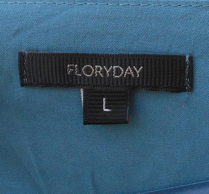 Легкая летняя свободная блузка с длинным рукавом из вискозы fl... - Фото 4