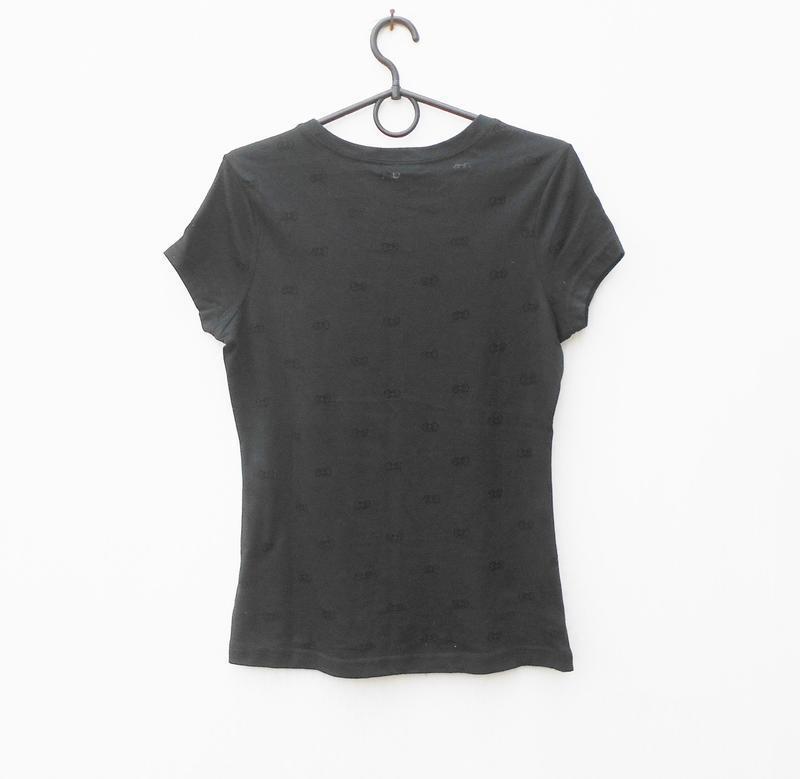 Трикотажная футболка с принтом - Фото 2