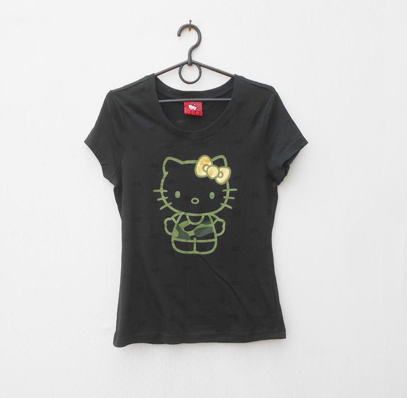 Трикотажная футболка с принтом - Фото 3