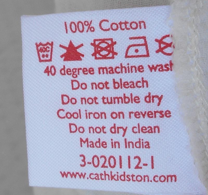 Летнее хлопковое брендовое платье в принт cath kidston - Фото 3
