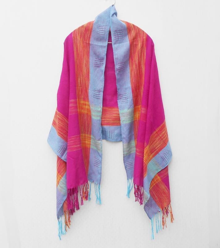 Осенний весенний шарф палантин пашмина