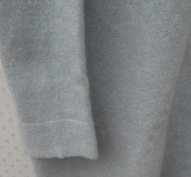 Кашемировое платье туника с длинным рукавом 🌿 - Фото 4
