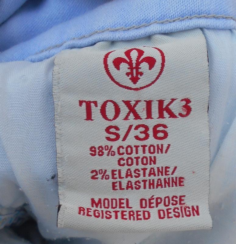 Высокие джинсовые шорты  toxik 3 - Фото 3