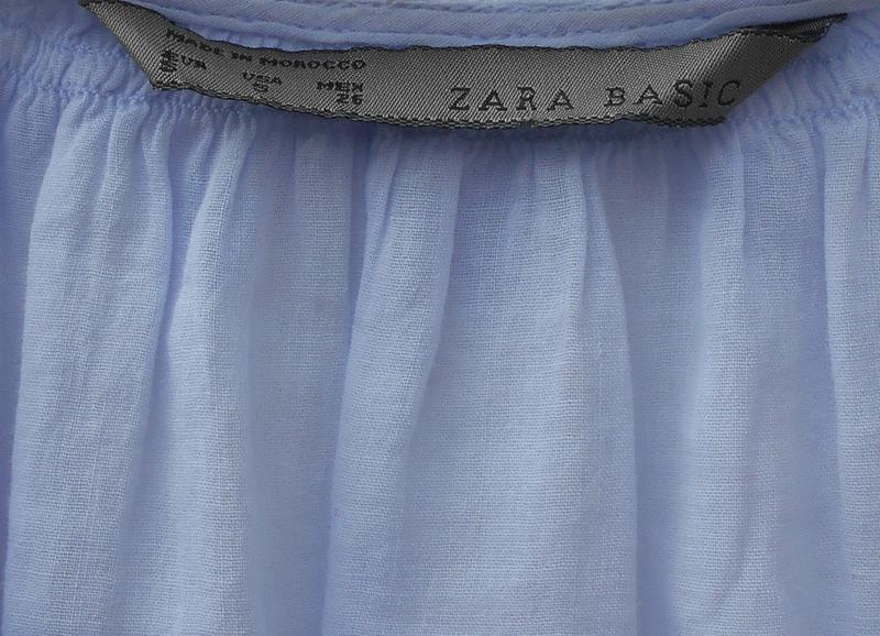 Летняя легкая свободная хлопковая блузка с кружевом - Фото 2