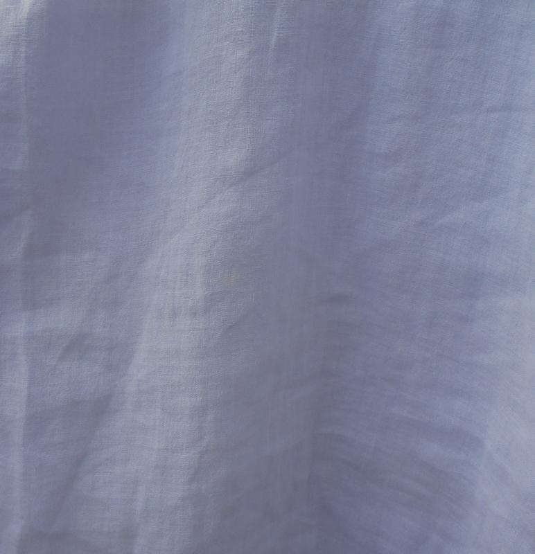 Летняя легкая свободная хлопковая блузка с кружевом - Фото 5