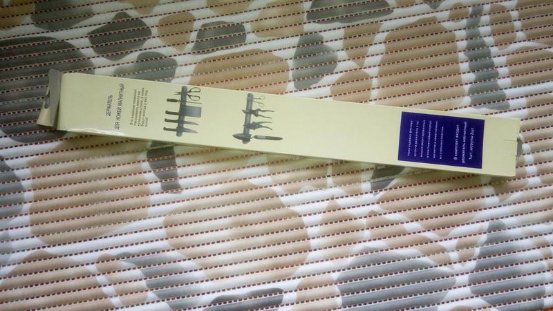 Кухонный Магнит длиной 38 см, для Кухонных Ножей, Инструментов - Фото 7