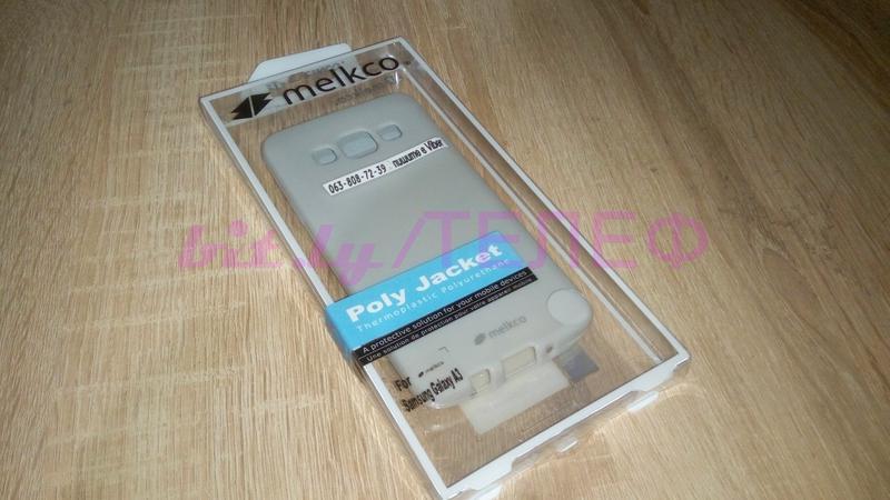 Силиконовый Чехол +пленка MELKCO для Samsung Gаlаxy A3 50 грн