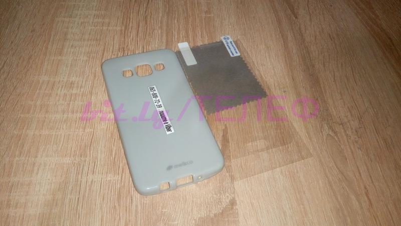 Силиконовый Чехол +пленка MELKCO для Samsung Gаlаxy A3 50 грн - Фото 3