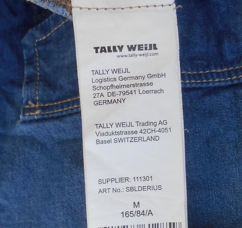 Джинсовая рубашка с воротником с длинным рукавом - Фото 3