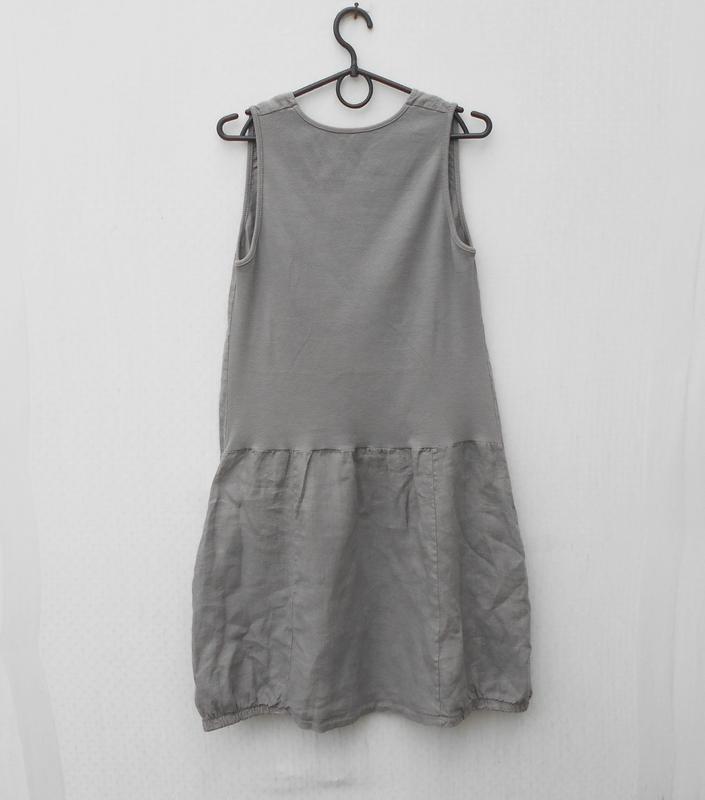 Летнее льняное легкое платье - Фото 2