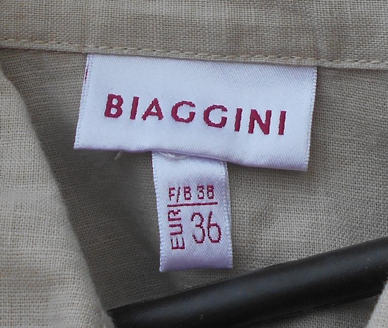 Льняная летняя легкая рубашка с коротким рукавом - Фото 2