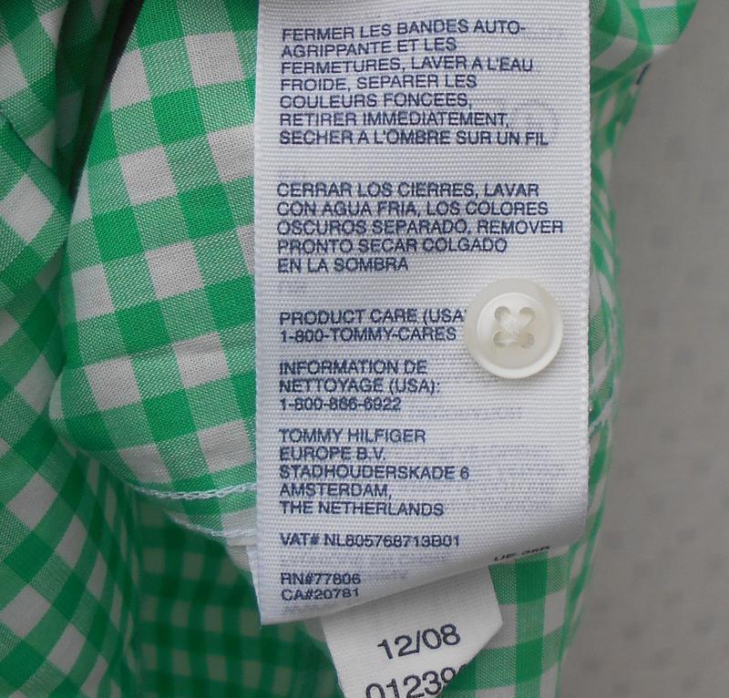 Хлопковая рубашка с воротником в клетку с коротким рукавом 🌿 - Фото 6