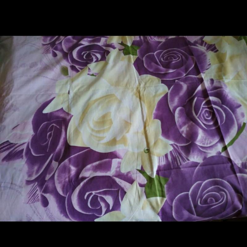 Постільна білизна фіолетові рози - Фото 2