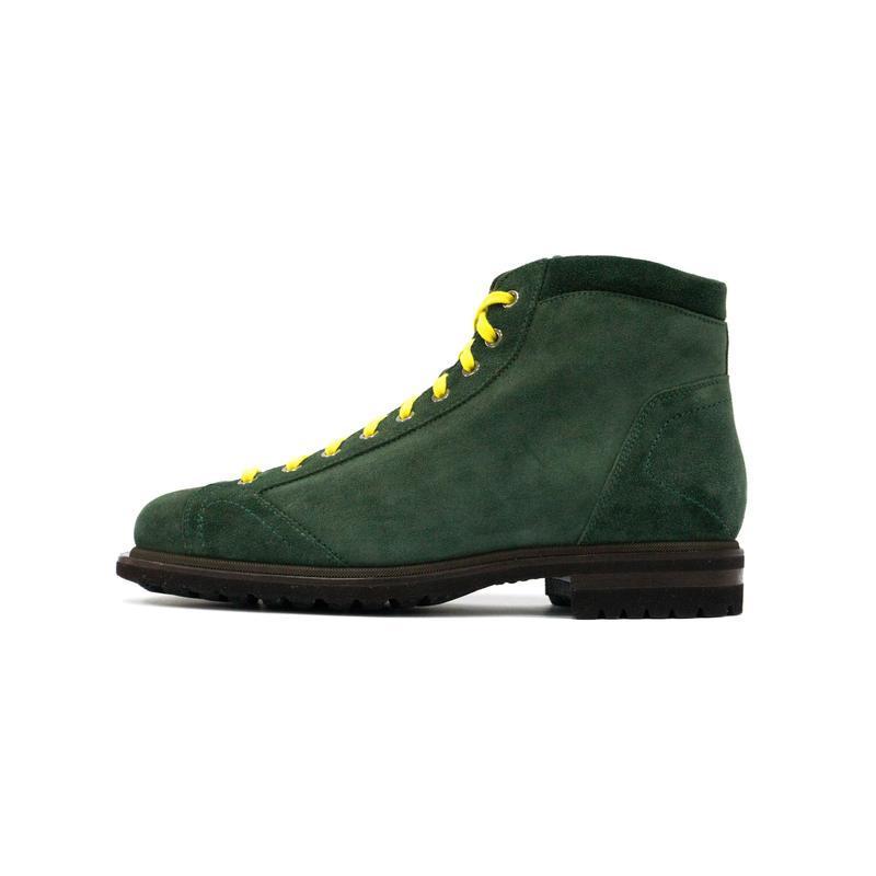 Замшевые ботинки - хайкеры santoni - Фото 2