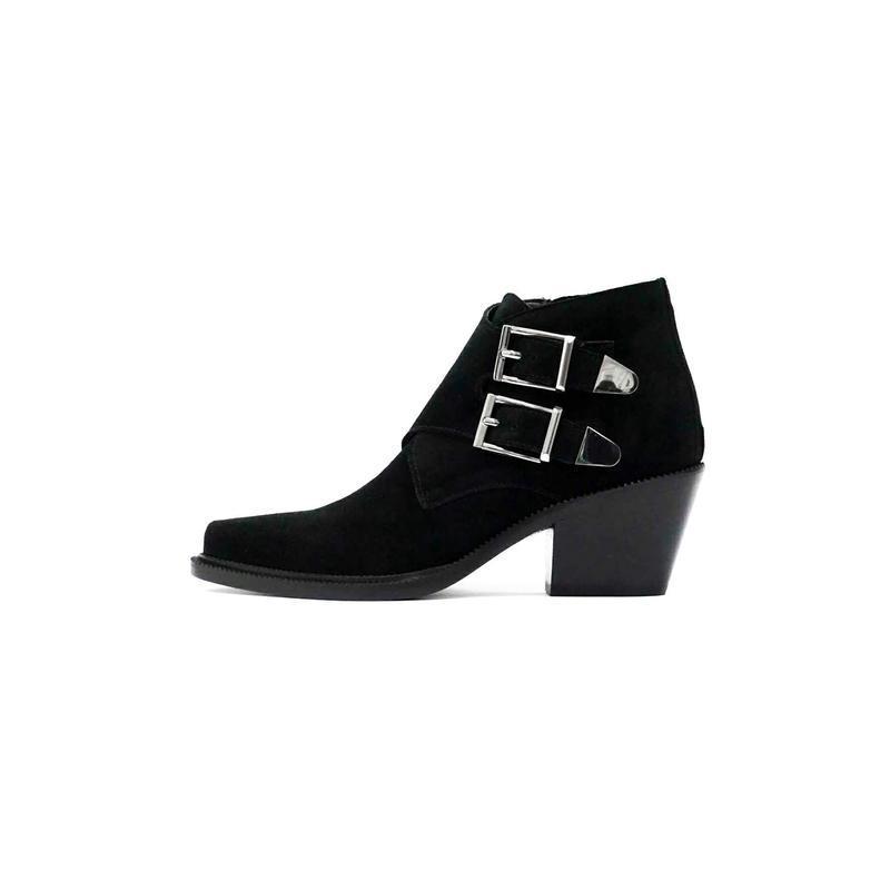 Замшевые ботинки - казаки barbara bui