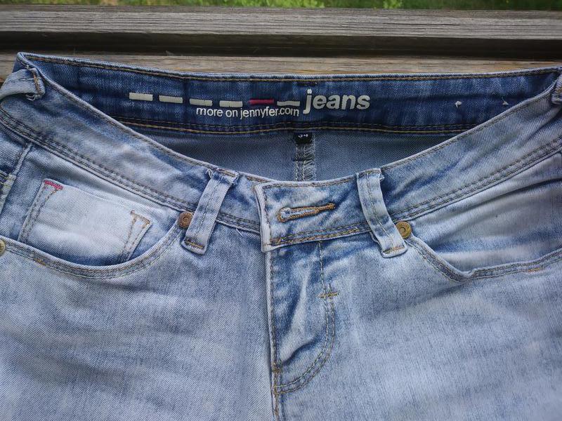 Модные, рваные джинсы - Фото 5