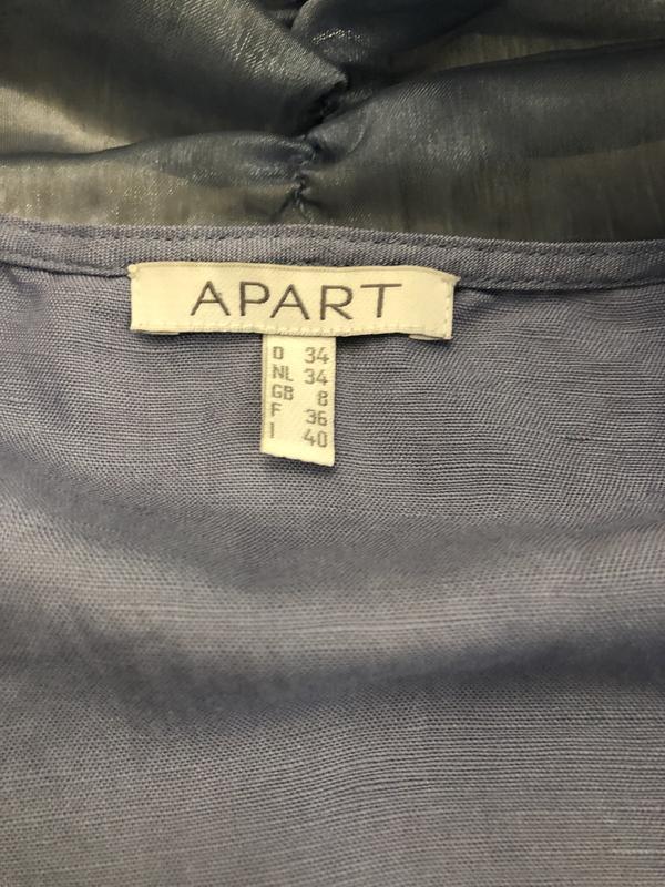 Роскошная блуза из льна и органзы. - Фото 9