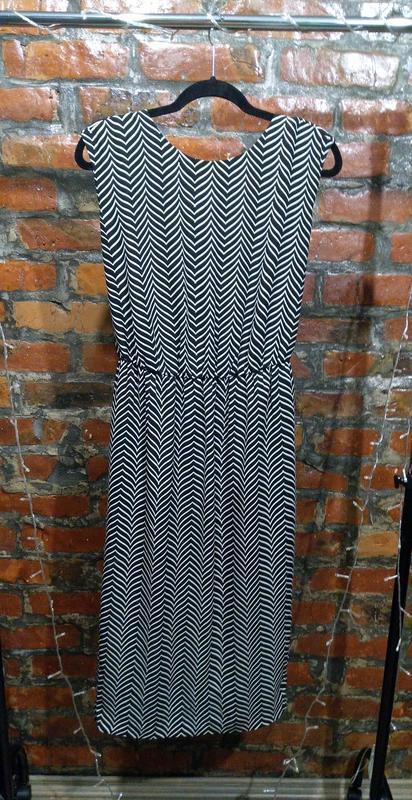 Платье сарафан с драпировкой на спинке next