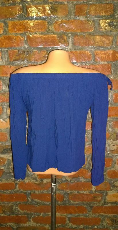 Стильная блуза кофточка на плечи select - Фото 2