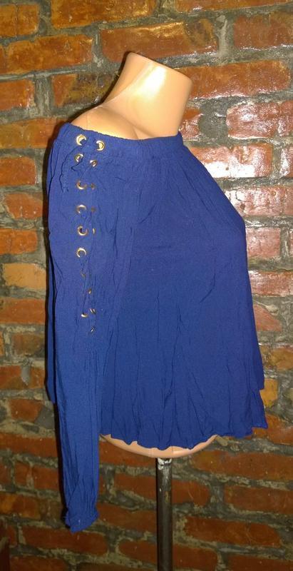 Стильная блуза кофточка на плечи select - Фото 3