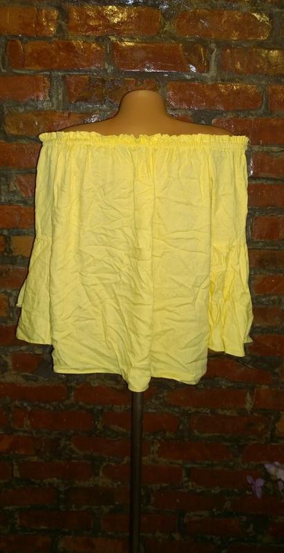 Топ блуза кофточка на плечи f&f - Фото 2