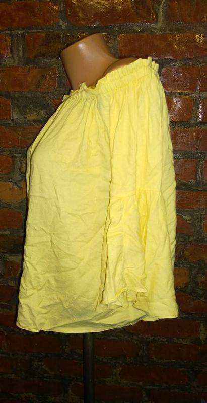 Топ блуза кофточка на плечи f&f - Фото 3