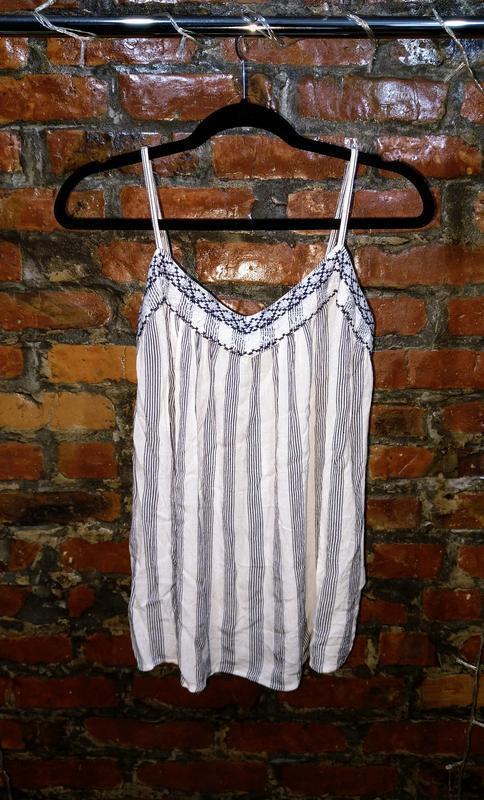 Топ блуза кофточка майка с вышивкой dorothy perkins