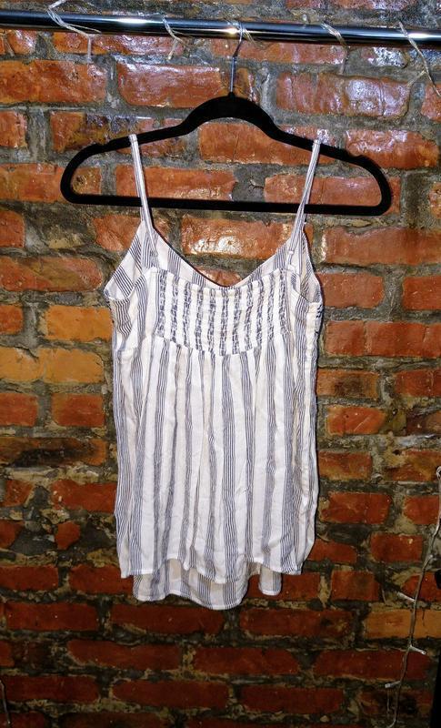 Топ блуза кофточка майка с вышивкой dorothy perkins - Фото 2
