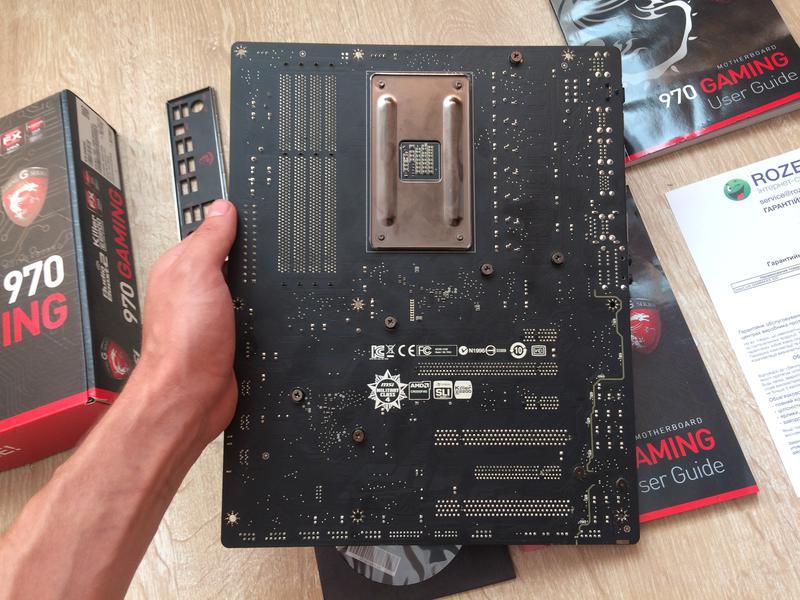 Материнская плата для AM3+ MSI 970 Gaming (AMD FX Phenom) сборка - Фото 3
