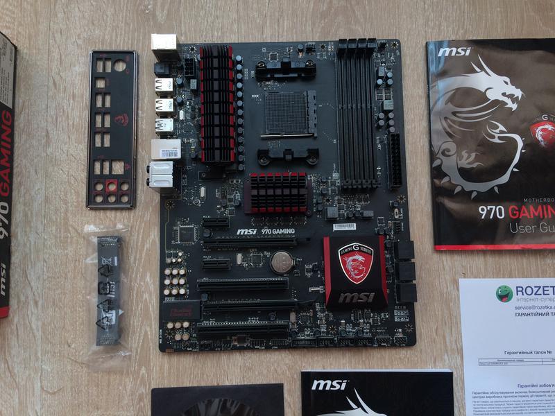 Материнская плата для AM3+ MSI 970 Gaming (AMD FX Phenom) сборка - Фото 7