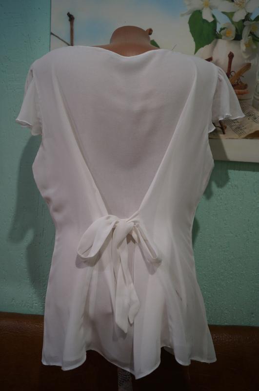 Блуза р.44,бренд tu - Фото 3